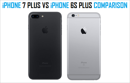 iphone 6s vs 7 plus