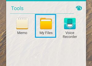 My Files Folder on Android