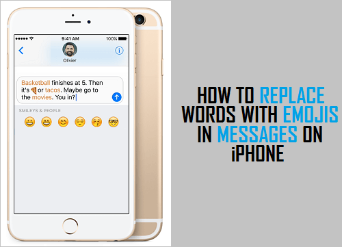 Replace Words With Emojis In Messages On iPhone