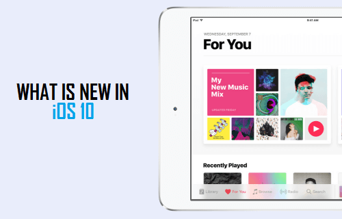 What is New in iOS 10