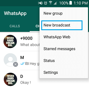 How to Send WhatsApp Message to Multiple Contacts