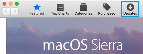 Manually Check For MacOS Updates on Mac