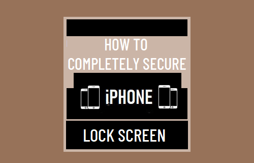 Completely Secure iPhone Lock Screen