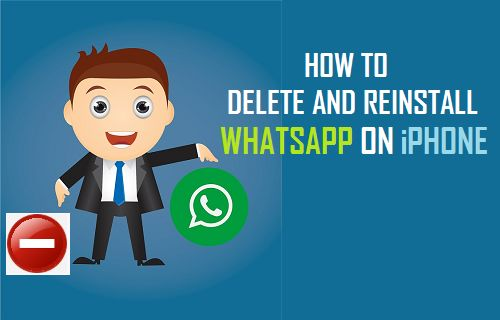 Delete and Reinstall WhatsApp On iPhone