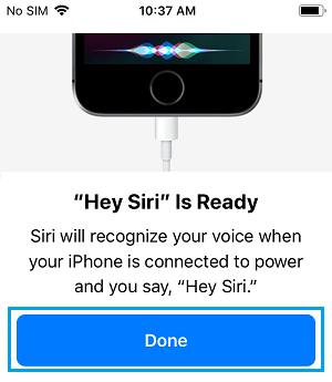 Siri is Ready on iPhone
