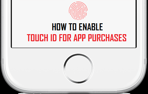 How to Enable Touch ID for App Purchases