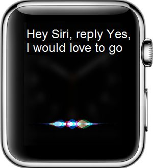 Reply to Messages Using Siri on Apple Watch