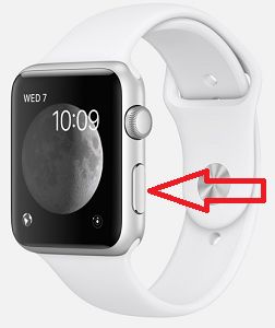 Side Button on Apple Watch