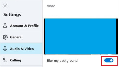 How to Hide Background During Skype Video Calls