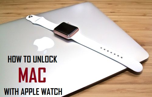 How to Unlock Mac With Apple Watch