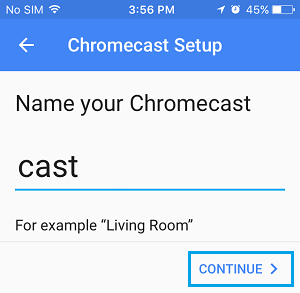 Change Chromecast Name