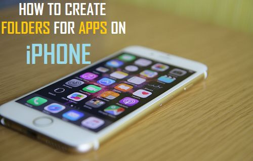 Create Folders For Apps on iPhone