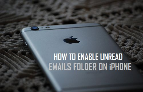 Enable Unread Emails Folder On iPhone