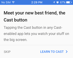 how to watch movies on chromecast from iphone