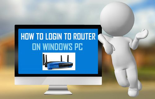 How to Login to Router On Windows PC