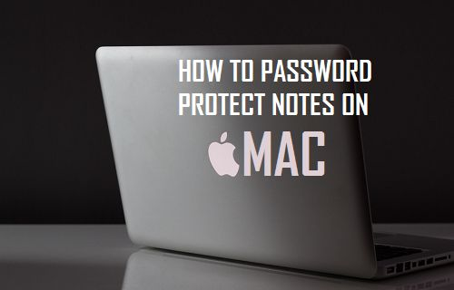 Password Protect Notes on Mac