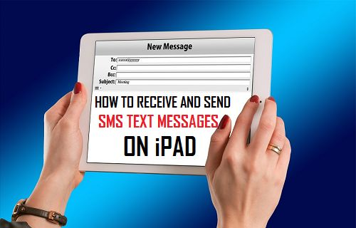 How to Receive and Send SMS Text Messages On iPad