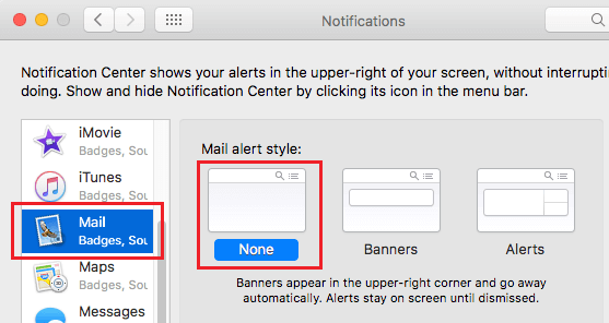 Disable Notifications On Mac