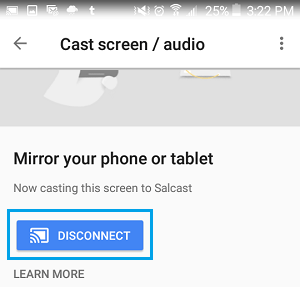 How to Mirror Android Screen to TV Using Chromecast