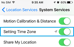 Enable Location Services For Setting Time Zone On Mac