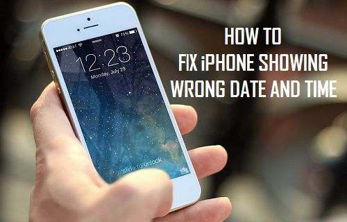 iphone clock wrong how to fix iphone showing wrong date and time 1048