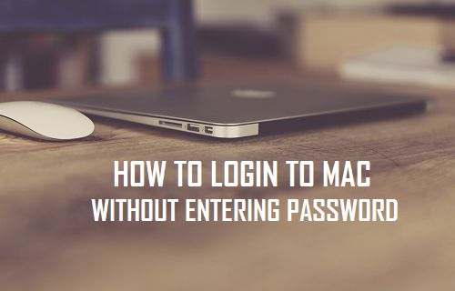 Login to Mac Without Entering Password