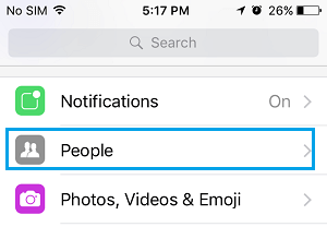 how to delete people off facebook messenger