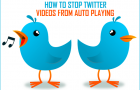 Stop Twitter Videos From Auto Playing