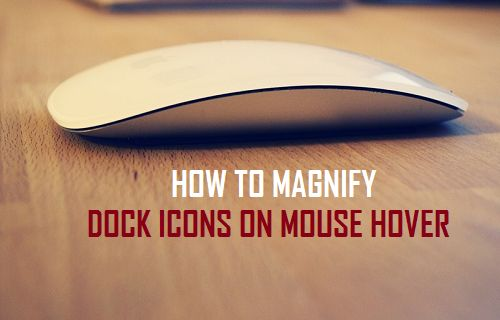 How to Magnify Dock Icons on Mouse Hover