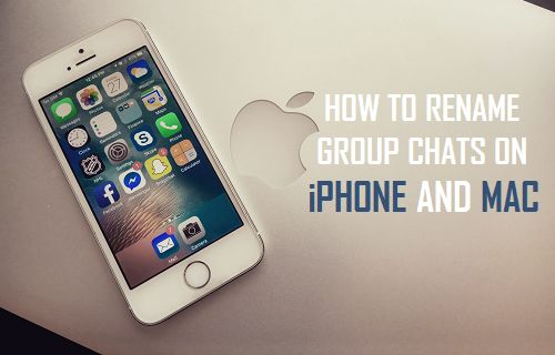 Rename Group Chats On iPhone and Mac