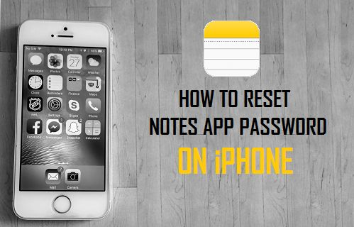 How to Reset Notes App Password On iPhone