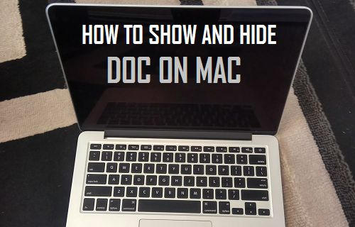 How to Show and Hide the Dock on Mac