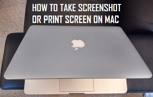 How to Take Screenshot Or Print Screen on Mac