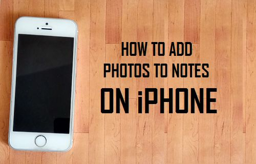 Add Photos to Notes On iPhone