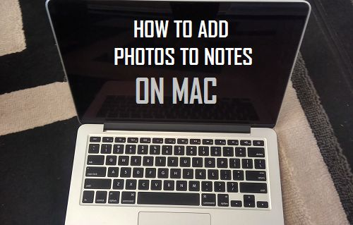 How to Add Photos to Notes on Mac