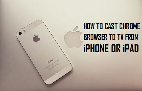 Cast Chrome Browser to TV From iPhone or iPad