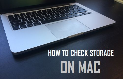 Check Storage on Mac