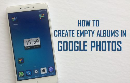 How to Create Empty Albums in Google Photos