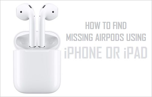 How to Find Missing AirPods Using iPhone or iPad