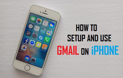 Setup and Use Gmail On iPhone
