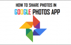 How to Share Photos in Google Photos App