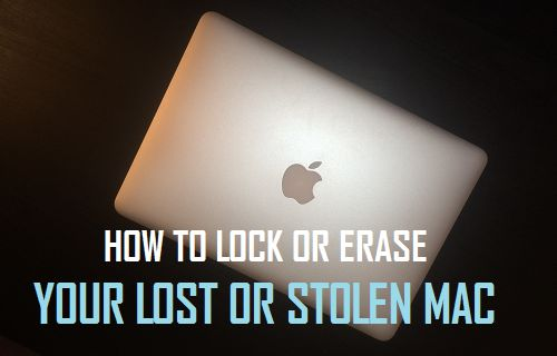 Lock or Erase Your Lost or Stolen Mac