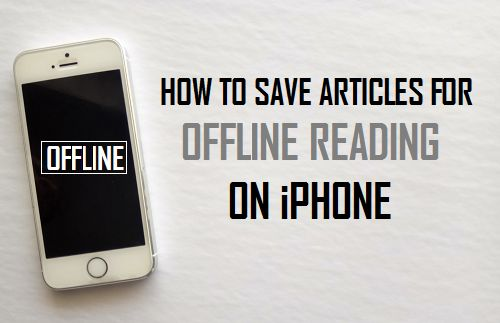 Save Articles For Offline Reading On iPhone