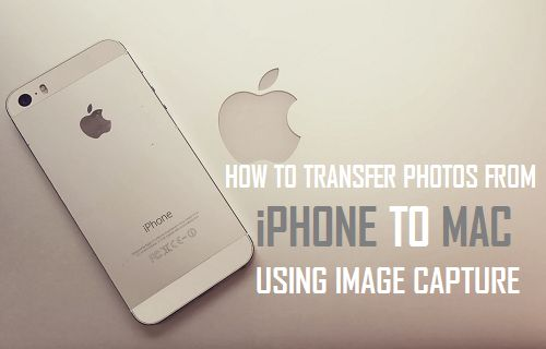 How to Transfer Photos From iPhone to Mac Using Image Capture