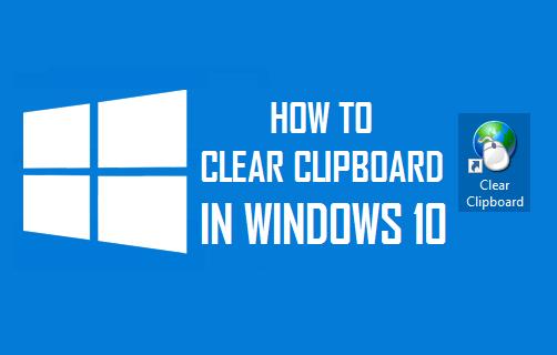 Clear Clipboard in Windows 10