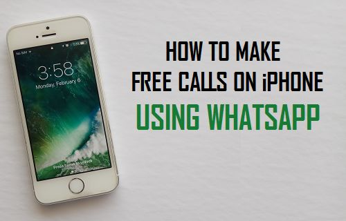 How to Make Free Calls On iPhone Using WhatsApp