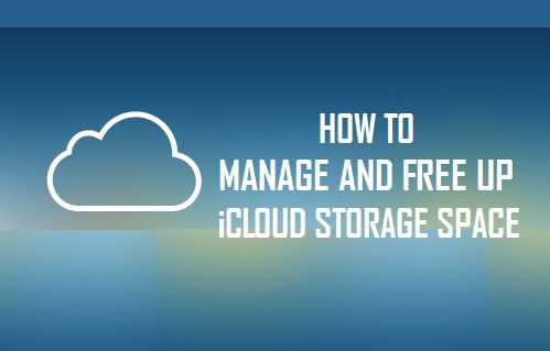 Manage and Free Up iCloud Storage Space