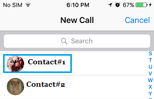 Place New WhatsApp Call From iPhone