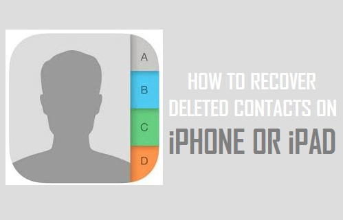 How to Recover Deleted Contacts On iPhone or iPad