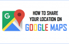 Share Your Location On Google Maps